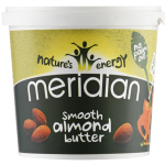 Meridian Almond Butter - MASŁO Z MIGDAŁÓW 1kg - Meridian Almond Butter smooth 1kg - meridian_smooth_almond_butter.png