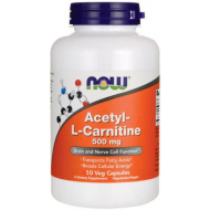 NOW Acetyl-L-Carnitine L-Karnityna Aminokwasy 500mg - 50k - acetyl.png