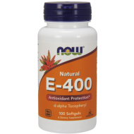 NOW NATURAL E-400 100kaps. MOCNA WITAMINA E - e-400_1.png