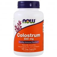 NOW COLOSTRUM 500MG SIARA NATURALNA ODPORNOŚĆ USA  - now4.jpg