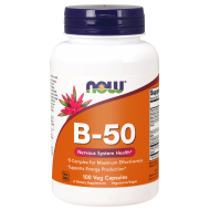 NOW FOODS B-50 COMPLEX [100 kaps] - now_b-50_100caps-witaminy.png