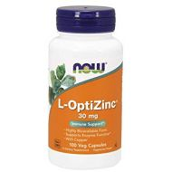 NOW L-OptiZinc 30mg CHELAT CYNKU MIEDŹ 100caps. - now_l-opti_zinc.jpg