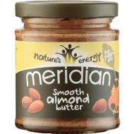 Meridian Almond Butter - masło pasta z migdałów - 170g - Masło z migdałów Meridian Almond Butter smooth 170g - smooth-almond.png